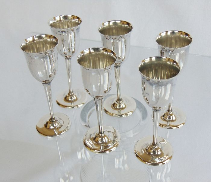 Goblets - .999 silver - Korea - First half 20th century
