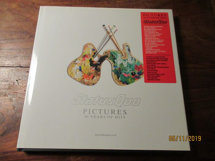 Status Quo - Pictures - 40 years of hits - CD Box set - 2008/2008