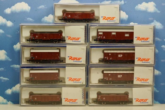 Roco N - 25590 / 25600 / 25601 / 25602 / 25536 - Freight carriage - Professional line - DB