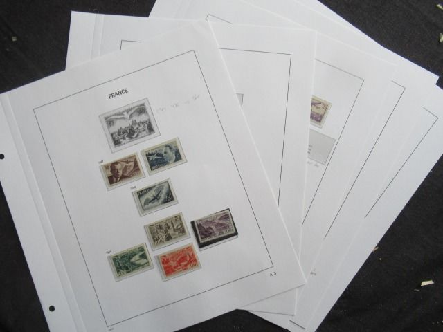 France 1930/1949 - Collection of airmail stamps