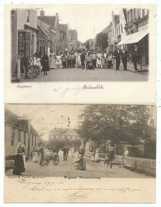 Postcards North Holland Villages and Cities (82x) (Collection) - 1900-1940