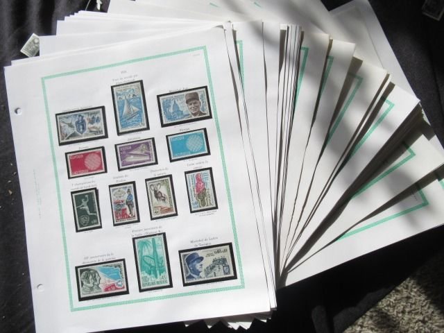 France 1970/1980 - Collection of stamps