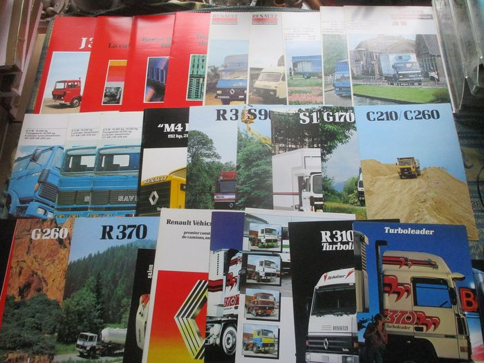 Brochures / catalogues - Renault Trucks - 1980-1985