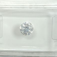 Diamant - 0.50 ct - Brilliant - F - SI2, No Reserve Price