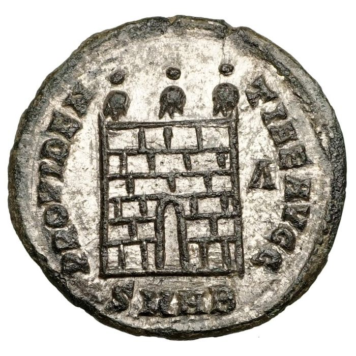 Empire romain - AE Follis, Licinius I. (308-324) Heraclea, Lagertor