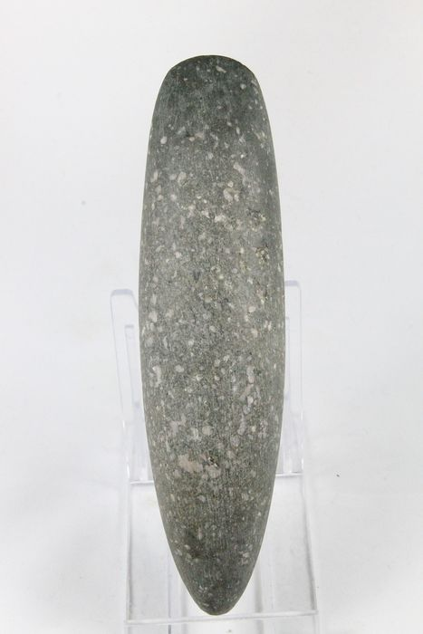 Prehistoric, Neolithic Stone Fantastic roller ax TOP-preservation - (1)