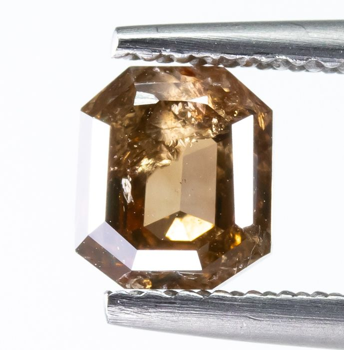 Diamond - 1.14 ct - Natural Fancy Brown - I2  *NO RESERVE*
