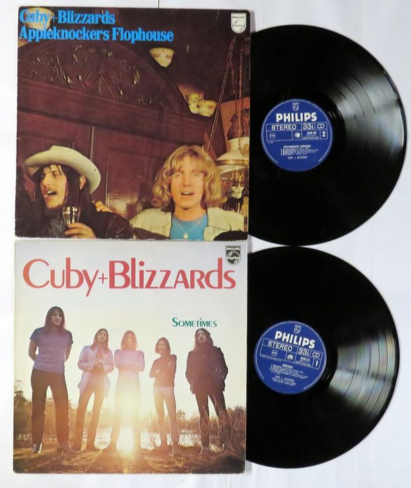 Cuby + Blizzards -  Appleknocker's Flophouse and Sometimes - Multiple titles - LP's - 1977/1977
