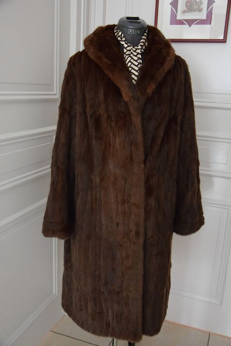Haber - Fur - Russian Little Gray Fur Coat - Made in: United Kingdom