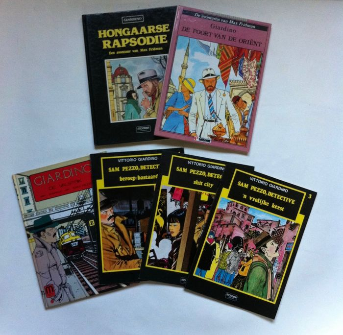 Hongaarse Rapsodie  Max Fridman , Sam Pezzo   - Hongaarse rapsodie ea. - Hardcover - First edition - (1982/1986)