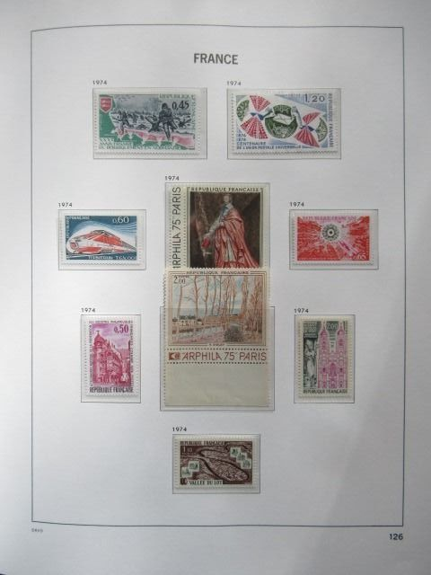 France 1970/1983 - Collection of stamps