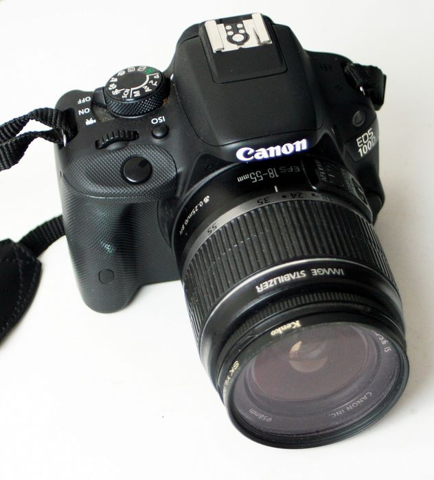 Canon EOS 100D + 18-55mm IS