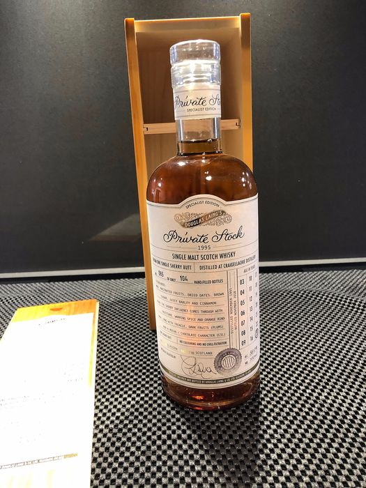 Craigellachie 1995 23 years old Private Stock - Douglas Laing - 0,7 litros