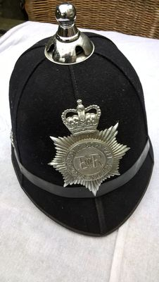 Storbritannia - Devon & Cornwall Constabulary Police Force - Hjelm