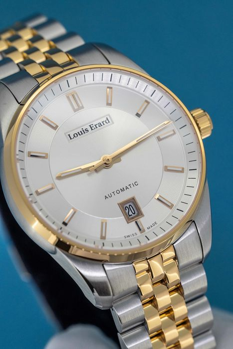 """Louis Erard - Heritage Collection 2 Tone Rose Gold Swiss Made - """"NO RESERVE PRICE"""" 69101AB71.BMA58 - Hombre - Brand New"""