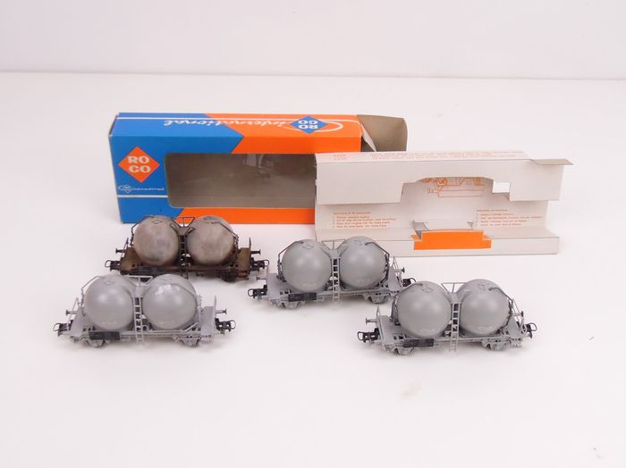Roco H0 - 4325 - Freight carriage - ball silo bulb wagon - NS