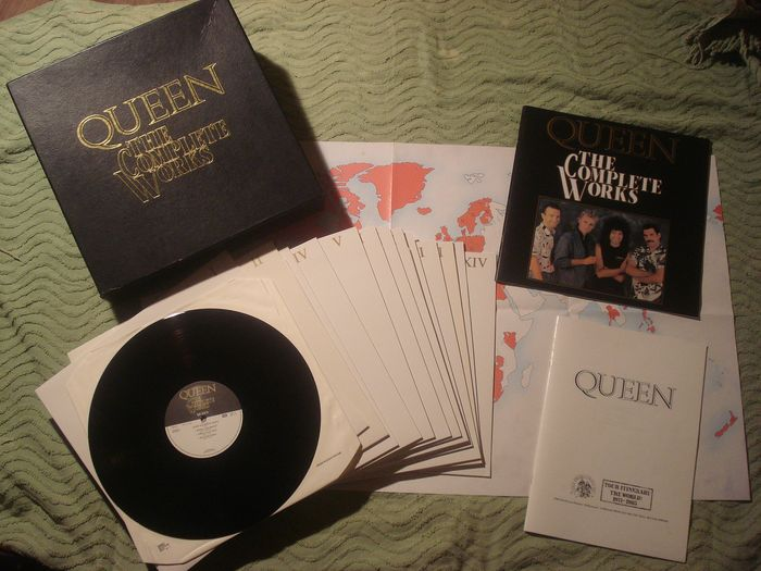 Queen - The Complete Works - LP Box set - 1985/1985