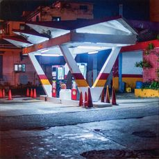 Guido Argentini (1966-) - Oil Station, 2018