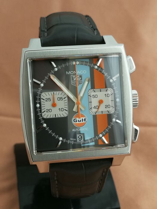 TAG Heuer - Monaco Chronograph  'Gulf'  Limited Edition  - Ref. CAW2113 - Herren - 2011-heute