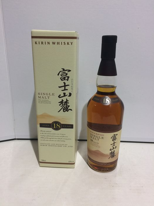 Kirin 18 years old Single Malt - Original bottling - 70 cl