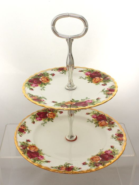 Royal Albert - Old Country Roses - Caketribune - Porselein