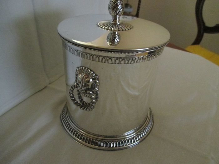 Silvered Ice Bucket - Silverplate