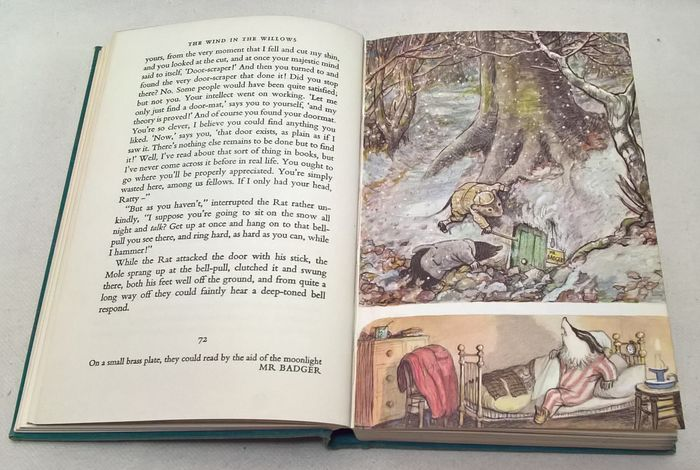 Kenneth Grahame/ Ernest H. Shepard  - The Wind in the Willows - 1963