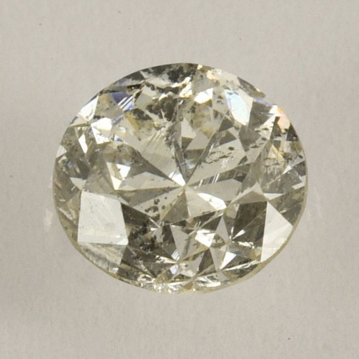Diamanten - 1.11 ct - Rond - J - P1