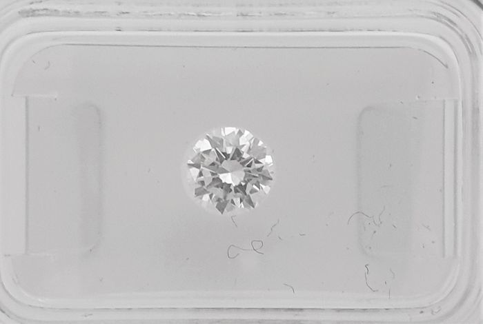 Diamant - 0.50 ct - Brillant - F - VS2
