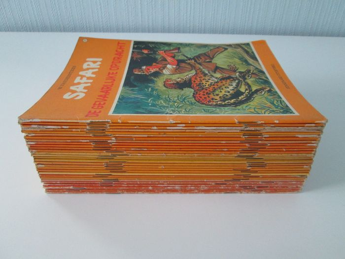Safari + Pats 31 strips - 2 volledige reeksen - Softcover - First edition - (1970/1974)