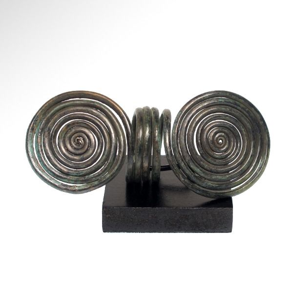 Bronze Age Bronze Large Spiral Finger Ring