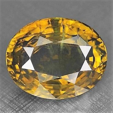 Brown, Yellow Alexandrite - 11.63 ct