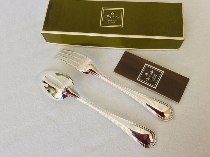 Christofle Spatours dinner cutlery (2) - Silverplate