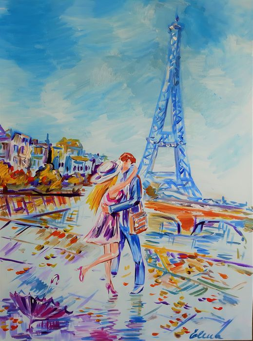 Elena Polyakova  - Lovers in Paris