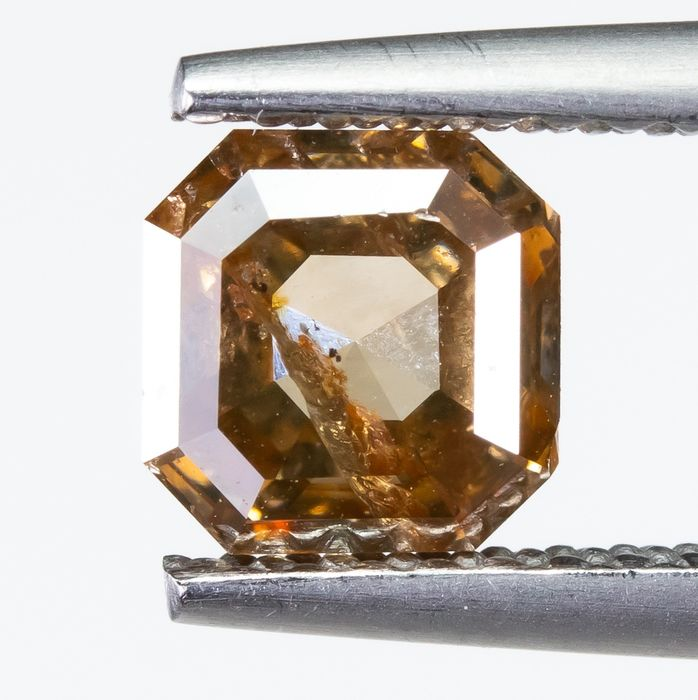 Diamond - 1.01 ct - Natural Fancy Brown - SI2  *NO RESERVE*