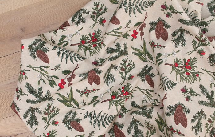 2.80 Meters !!!! textile Fantastic cotton fabric with Christmas designs - fabric, tissu, textil - Cotton, Resin/Polyester, cotton blend