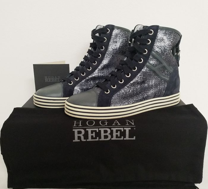 Hogan Rebel Polish with Buckle - Size: IT 36