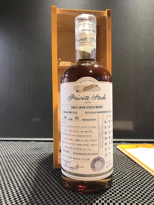 Invergordon 1974 44 years old Private Stock - Douglas Laing - 0.7 Litres