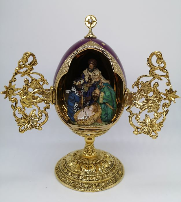 House of Fabergé We Three Kings Collector Egg - see existing