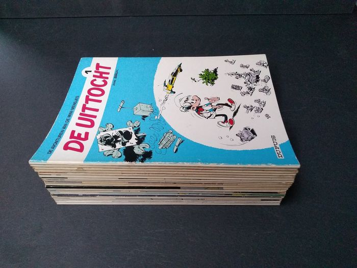 De Mini-mensjes - in reeks 1 tot 25 - Softcover - First edition - (1976/1988)
