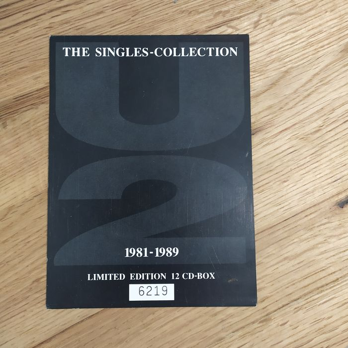 U2 - Multiple artists - The Singles-Collection 1981-1989 - CD Box set, Limited box set - 1992/1992