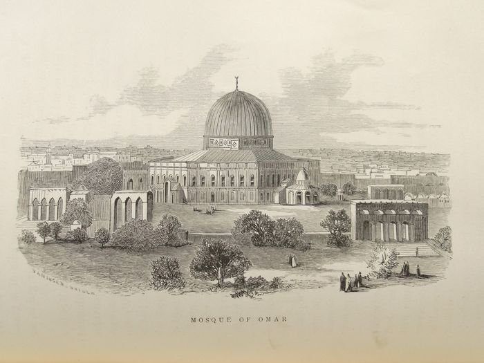 Jacob R. Freese - The Old World. Palestine Syria and Asia Minor; mooie staalgravures - 1869