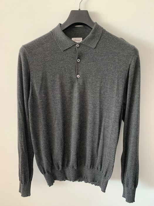 Brioni - Jumper - Size: EU 54 (IT 58 - ES/FR 54 - DE/NL 52)