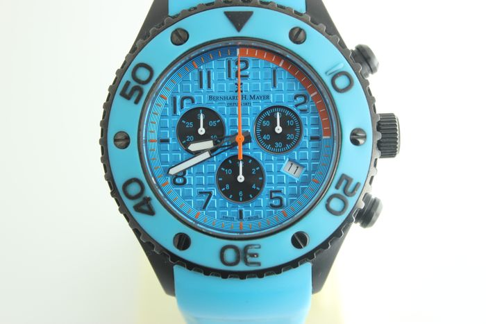 Bernhard H. Mayer - NO RESERVE PRİCE -CHRONOGRAPH BLUE - Homme - 2011-aujourd'hui
