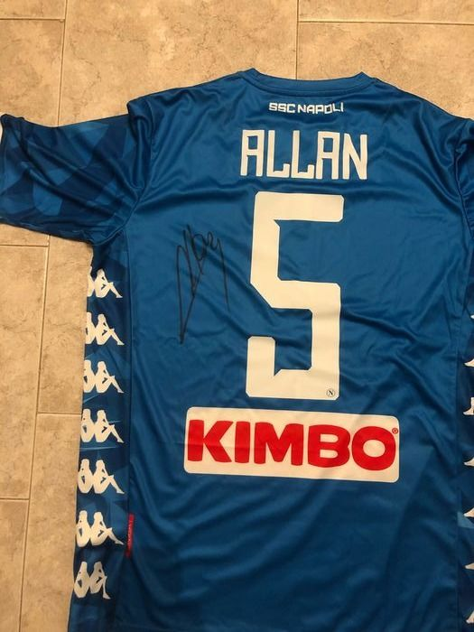 Napoli - Italian Football League - Allan  - 2019 - Jersey