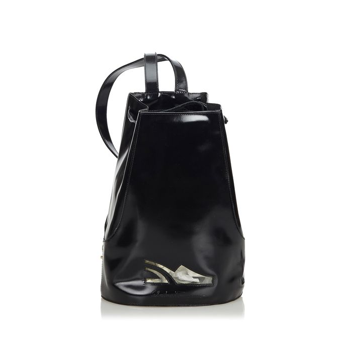Ferragamo - Patent Leather Backpack Backpack