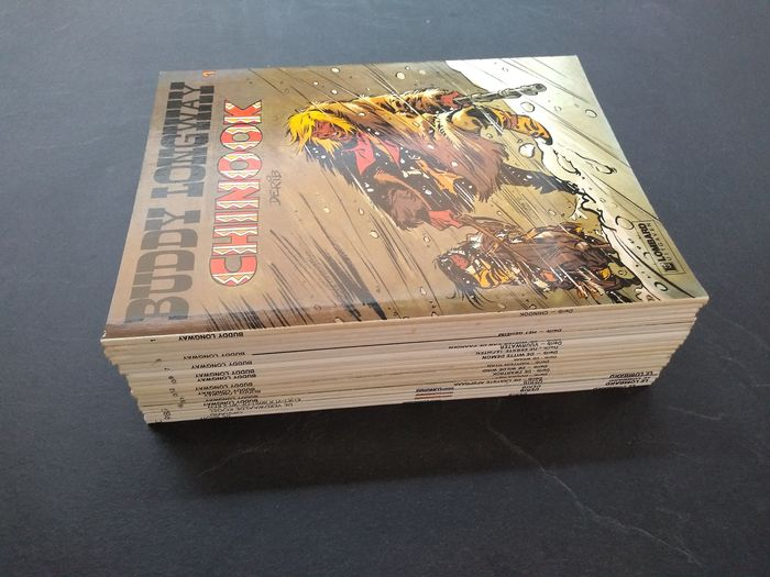Buddy Longway - complete reeks  1 t/m 20 - Softcover - First edition - (1974/2006)