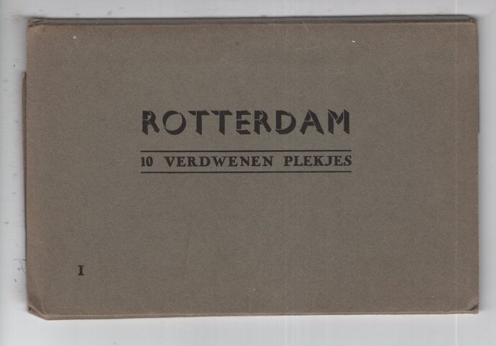 Netherlands - Rotterdam Series Like It Was & Lost Places - Postcards (Collection of 92) - 1940-1940
