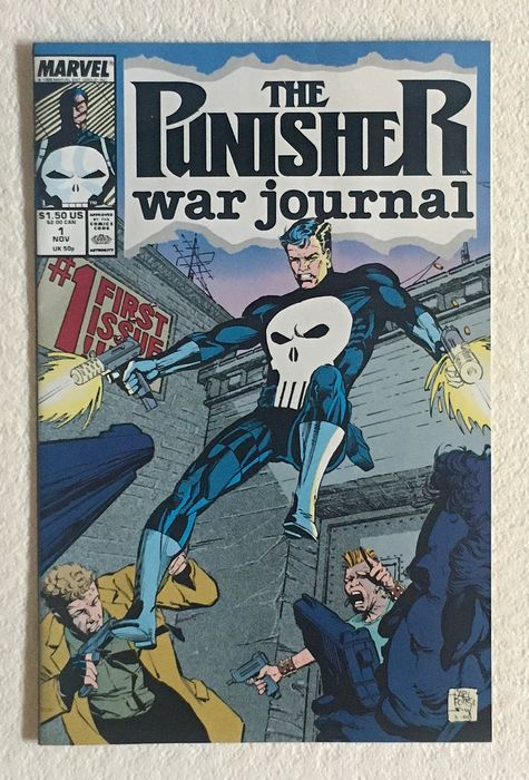 Punisher War Journal (Vol.1, 1988) #1/72 - (i-AMF Top Collection) - First edition