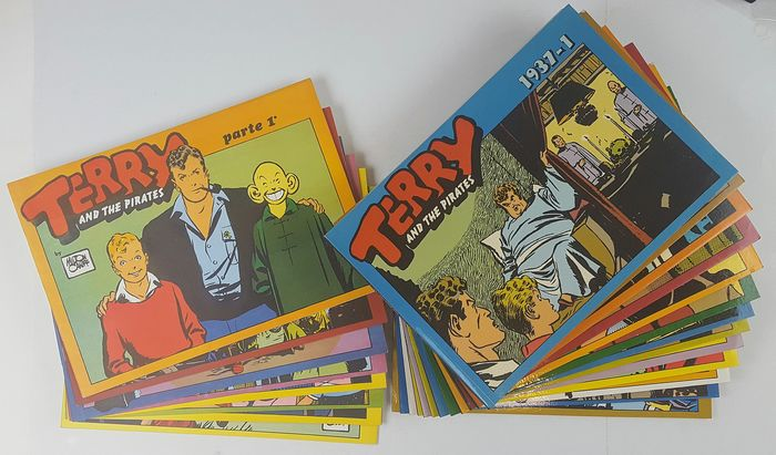 Terry e i Pirati - 22x albi - Softcover